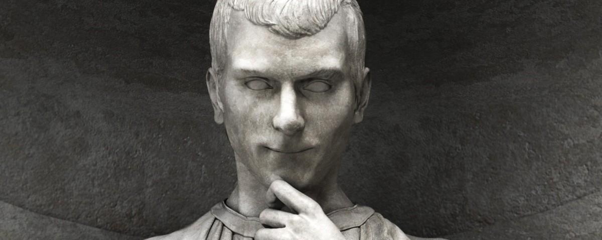 Risultati immagini per machiavelli statua